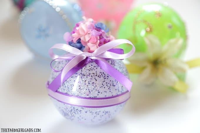 Disney Princess Glitter Ornaments - The Farm Girl Gabs ...
