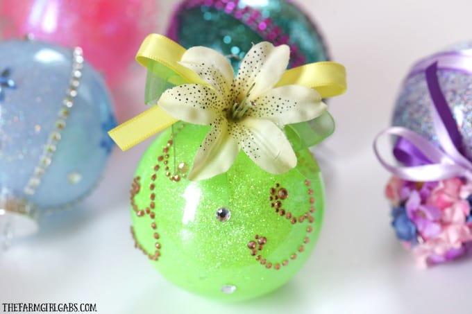 Disney Princess Glitter Ornament - Tiana