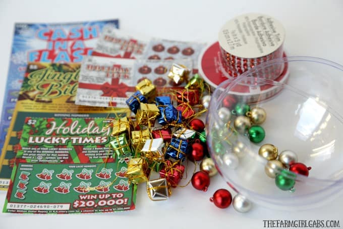 Gift the gift of lottery luck this holiday season with these fun NJ Lottery Ticket Christmas Ornaments.
