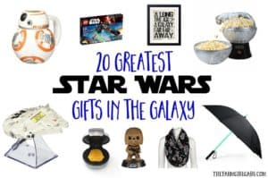 Have a Star Wars fanatic in your life? These 20 Greatest Star Wars Gifts In The Galaxy will bring a smile to their face.