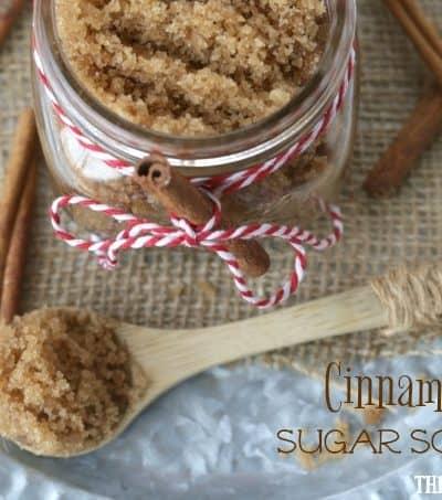 DIY Cinnamon Sugar Scrub