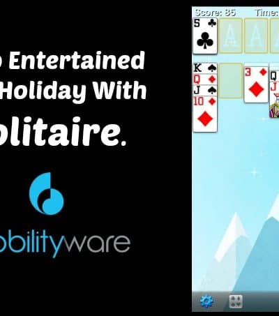 Keep Entertained This Holiday With Solitaire by MobilityWare