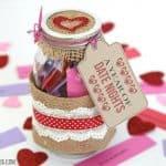 Date Night In A Jar Gift Idea: A Year Of Date Ideas