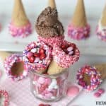 Fun Treats: Dipped Ice Cream Cones