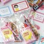 Disney Princess Valentine Treat Bags