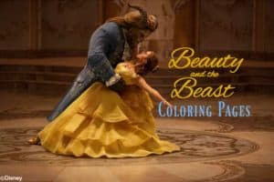 Have some Disney fun today and download these free Beauty And The Beast Coloring Sheets.