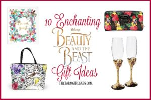 These 10 Enchanting Beauty And The Beast Gift Ideas are perfect for any Disney Beauty And The Beast Fan! #BeOurGuest