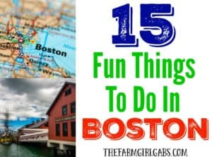Thinking about visiting Boston? If you do (you really should!), check out these 15 Fun Things To Do In Boston.