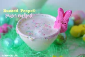 Buzzed Peeps Easter Cocktail