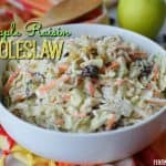 Apple Raisin Coleslaw