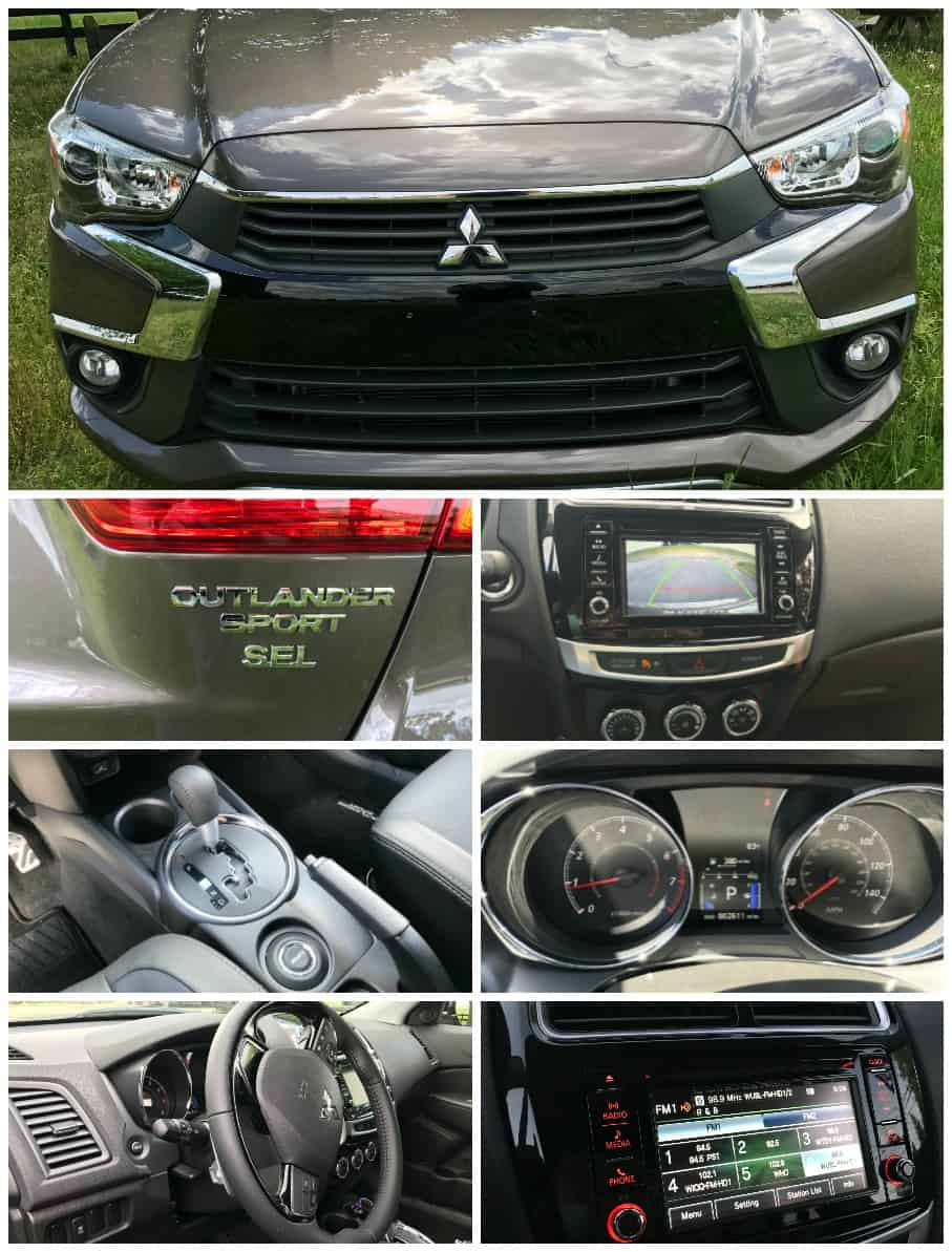 Cruising in the 2017 Mitsubishi Outlander Sport SEL
