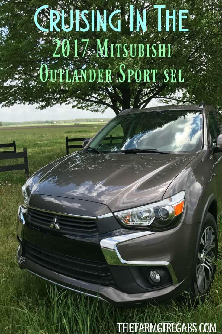 Cruising in the 2017 Mitsubishi Outlander Sport SEL