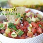 Are you ready to spice up your Cinco de Mayo Celebration? This Pineapple Pico de Gallo is the perfect way to add a sweet and zesty zip to your party.