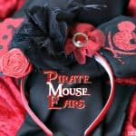 Pirate Mouse Ears
