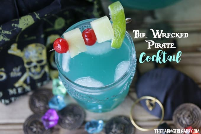 The Wrecked Pirate Cocktail