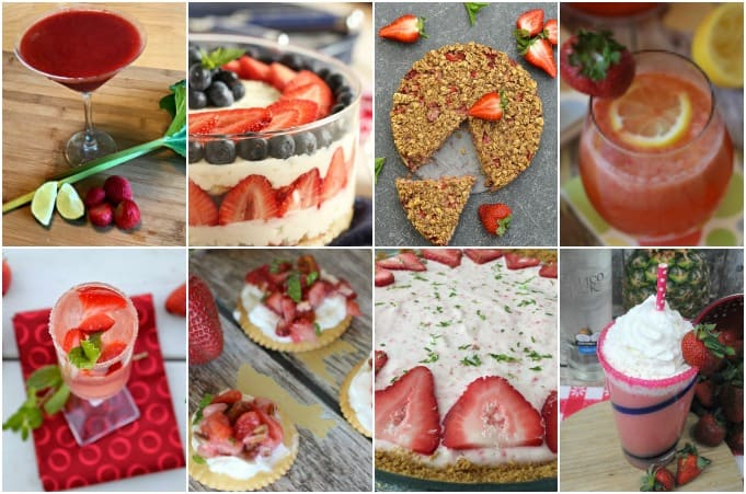 Celebrate the deliciousness of strawberry season. This round-up of 70 Mouth-Watering Strawberry Recipes has something for everyone.
