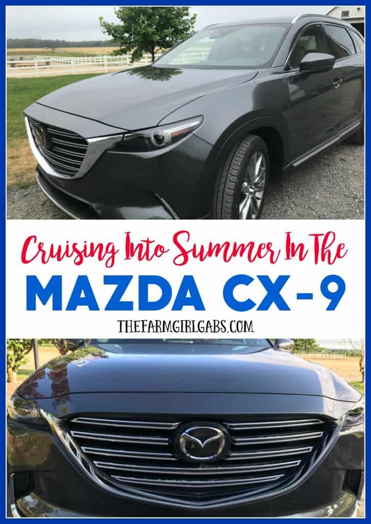 Cruising Into Summer In The 2017 Mazda CX-9 Signature AWD. #DriveMazda #AD