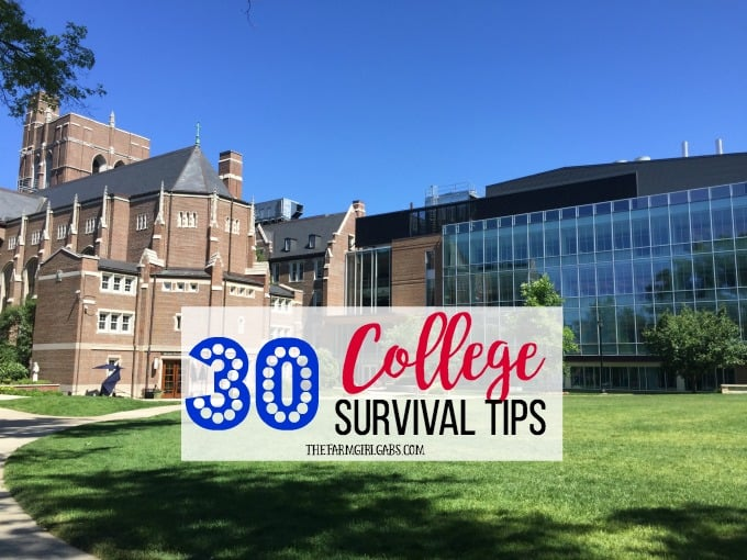 30 College Survival Tips