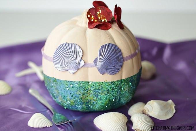 Disney The Little Mermaid Pumpkin