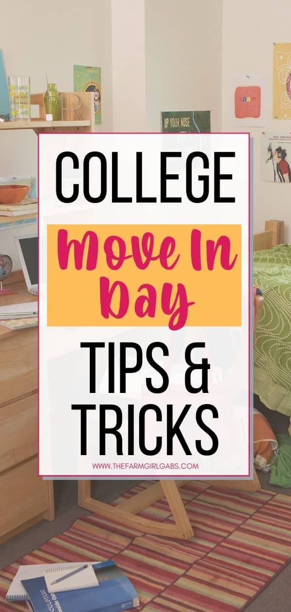 Are you preparing for the big college move in? Sending a child off to college is a new chapter. It's not always easy but these helpful college move-in tips will make the transition easier for you and your college student. Check out 10 Practical College Packing Tips For A Successful Move-In Day.