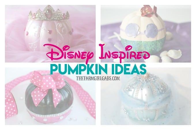 Disney Inspired Pumpkin Ideas