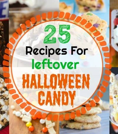 25 Recipes To Make With Leftover Halloween Candy