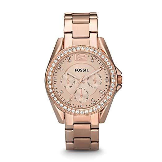 Girl Boss Gift Guide Rose Gold Watch