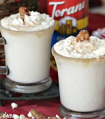 Chestnut Praline White Hot Chocolate
