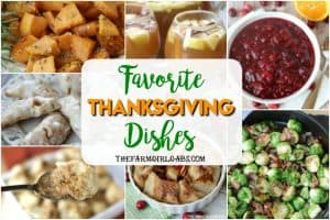 Favorite Thanksgiving Dishes + Free Printable Meal Planner