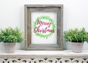 Free Merry Christmas Printable + Cash For Christmas Giveaway