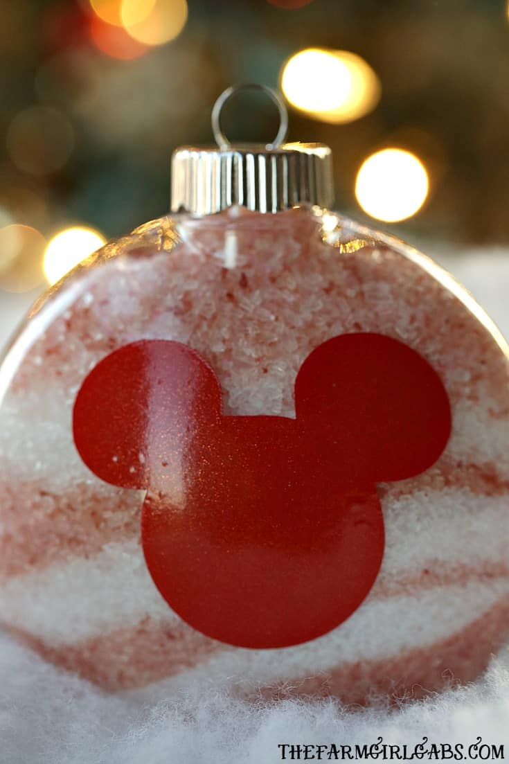 Give the gift of pampering the Christmas. These Disney Bath Salt Ornaments are the perfect self-care gift idea for the Disney fan on your gift list.