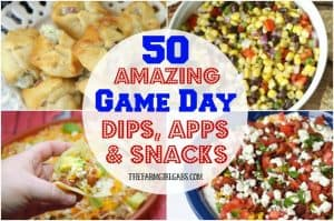 Score big and your Game Day party with a fantastic spread of these Amazing Dips, Apps, And Snacks