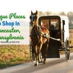Unique Places To Shop In Lancaster County, PA