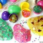 Easter Egg Glitter Slime Party Favors