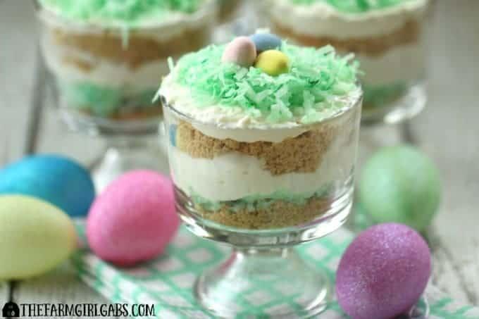 Coconut Cheesecake Parfaits