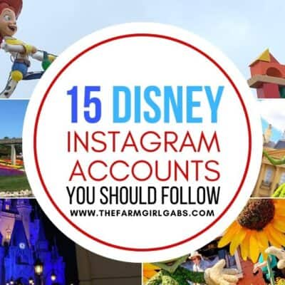 Can't get enough of the Disney Parks? Here are 15 Instagram Disney Accounts You Should Be Following to help make yourday magical. Ready for some amazing Disney photography? These Disney Instagram accounts capture all the magic of Walt Disney World and the Disney Parks. #disneyworld #disneyinstagram #disneyhacks #disneyphotos