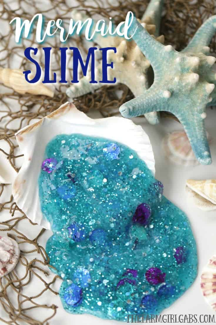 I bet Ariel (The Little Mermaid) will love to add this Mermaid Slime to her collection. This fun Disney craft will keep the kids busy for hours. #slimerecipe #MermaidSlime #TheLittleMermaid #DisneyCraft