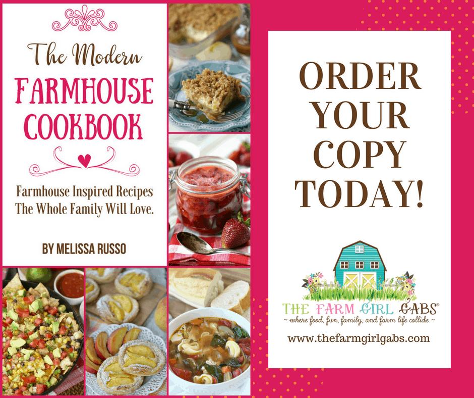 The Modern Farmhouse Cookbook - My Books