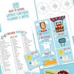 Ready for a smooth back-to-school transition? Here are some easy Ways to Rock Your Back To School Routine. These back to school tips will help your family be organized for the new school year with little stress. Download a free school lunch meal planner. This printable meal planner is filled with lunchbox ideas for kids and teens.