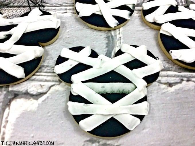 Mickey Mummy Cookies