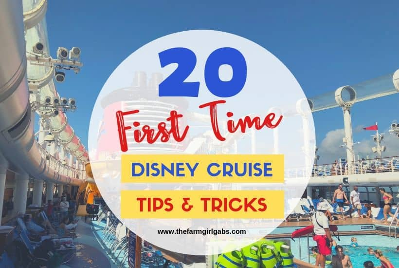 Ready to set sail on your first Disney cruise? Before you cast off, check out these 20 Tips For First Time Disney Cruising. #DisneyCruise #CruiseTips #DisneyPlanning #DisneyCruiseLine
