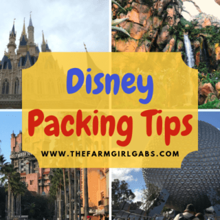 Disney Packing Tips to help make your Disney Vacation magical.