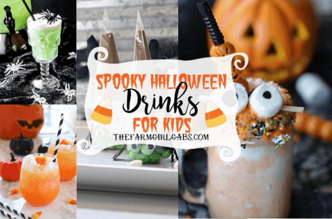 14 Spooky Halloween Drinks For Kids