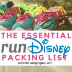 The Essential runDisney Packing List