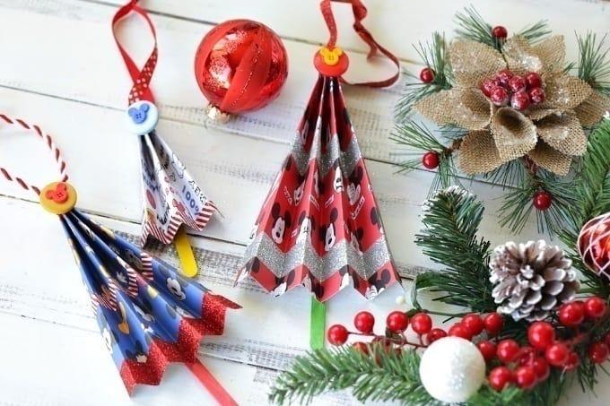 Disney Accordion Tree Ornaments