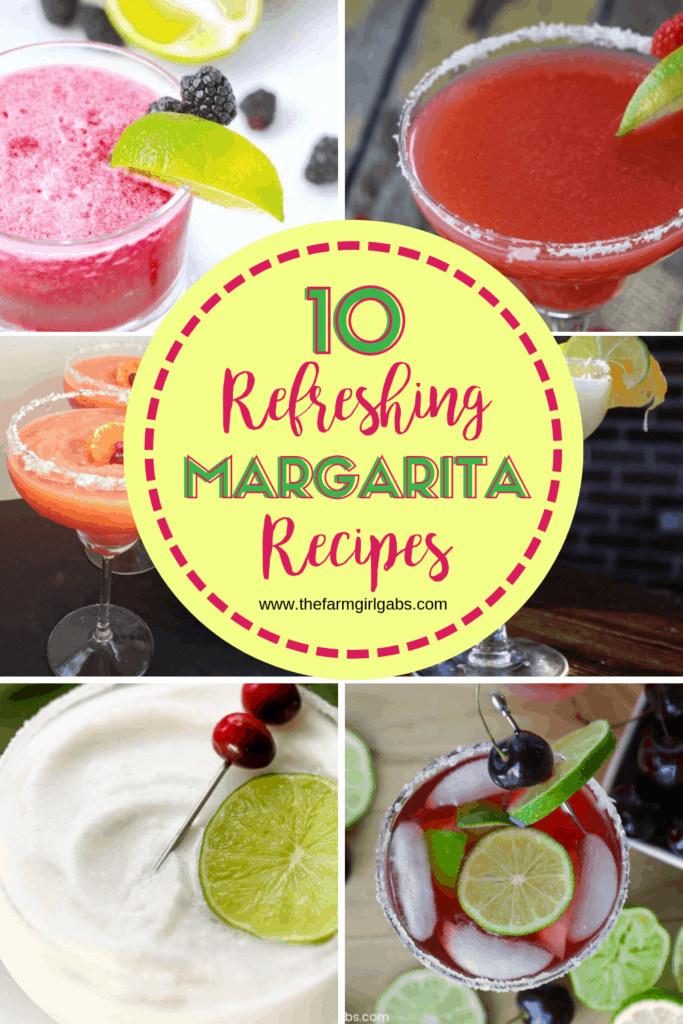 It's National Margarita Day and that calls for celebration. Let's toast this foodie holiday with one of these Refreshing Margarita Recipes. #Margarita #MargaritaRecipes #Cocktails