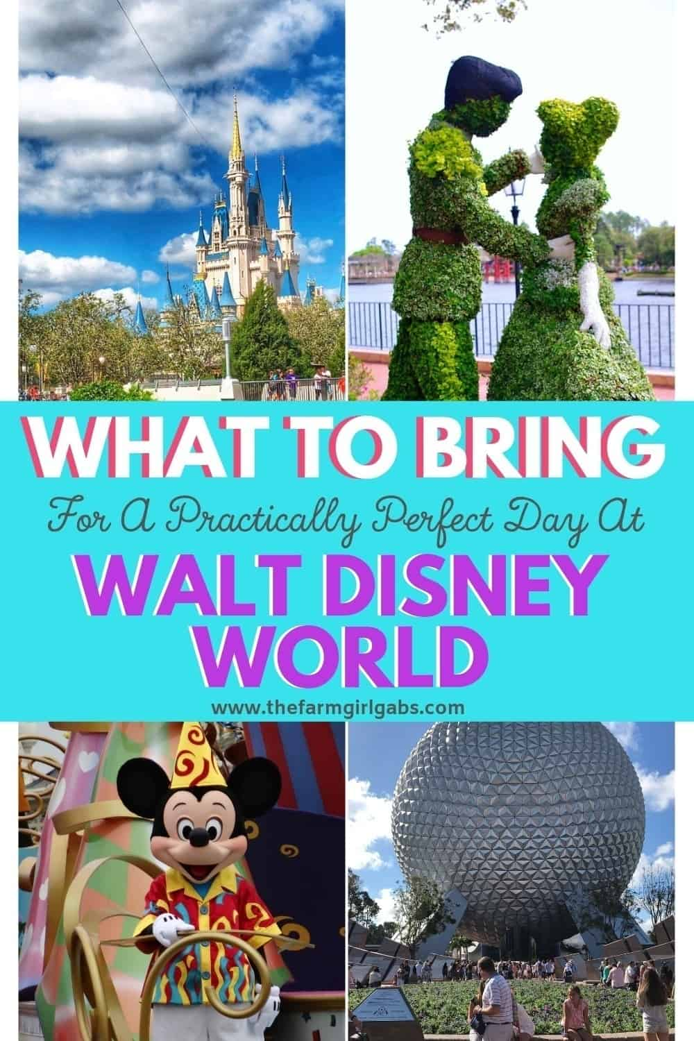 Are you ready to do Disney? Here are some helpful Walt Disney World Tips for What To Pack For A Practically Perfect Day At Walt Disney World. Check out this ulitmate disney packing tips post for your day trip to the parks. #waltdisneyworld #disneypackingtips #disneyland