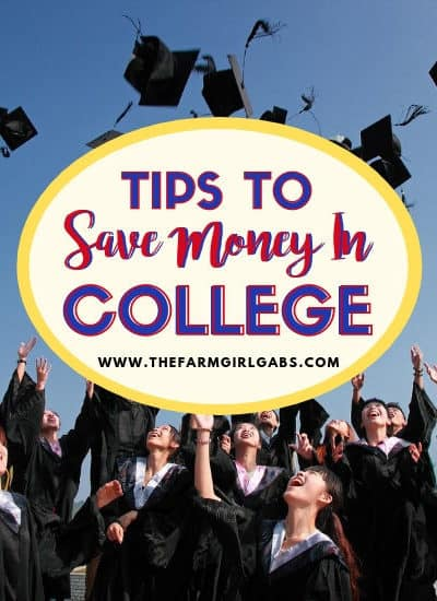 Attending college is one of the largest investments a person makes as a young adult. It can also put a HUGE dent in your wallet. Here are some helpful tips to Save Money in College.