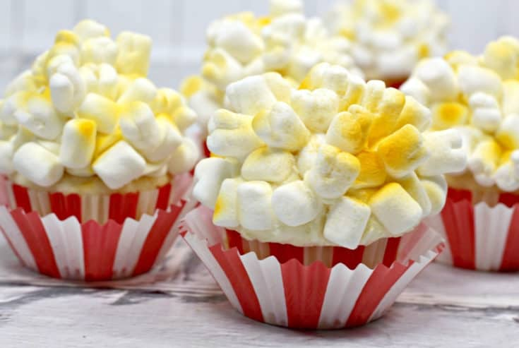 Celebrate the new live-action Dumbo film and make a batch of these adorable Dumbo Cupcakes with your kids. Don't just fly, soar! #Dumbo #Cupcakes #DisneyMovie #PartyIdea #Disneytips #DisneyWorld