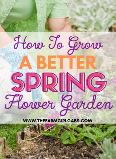 It's never too early to start planning your spring flower garden. These helpful tips for a better Spring Flower Garden with get your garden growingin no time.